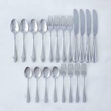 italian stainless steel flatware 20 piece set on food52