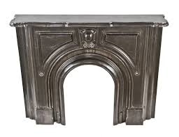 completely refinished brushed ornamental cast iron 19th century