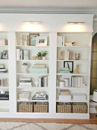 White Bookcase Ideas Beautifullibrarylights Light Design Bookshelf Styling And Lights