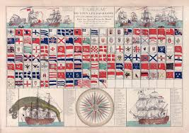 Us Navy Signal Flags Flags For Ships Flags Of Ships 100 00 Nostalgia Fine Art