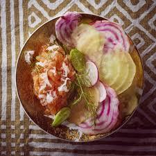 raifort cuisine recette tartare de saumon au raifort cuisine madame figaro