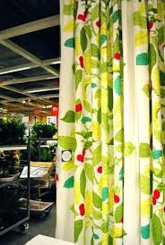 Ikea Kitchen Curtains Inspiration Leaf Curtains Ikea Print Inspirational Kitchen Taste Over Blinds
