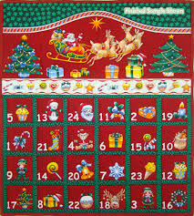 advent calendar folded christmas advent calendar panel logan s patchwork