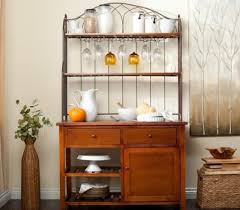 Contemporary Bakers Rack Bakers Rack With Drawers Ashley Home Decor