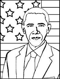 fancy barack obama coloring page 14 for your coloring books with