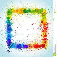 colorful paint splatter border поиск в google patterns