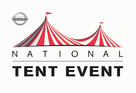 tent event nissan of greenville don t forget national tent event