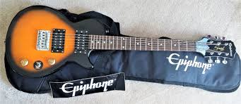epiphone les paul express travel size electric guitar