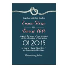 wedding invitations the knot tying the knot invitations announcements zazzle