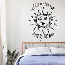 wall decals quotes live by the sun from tasteofeuropesticker