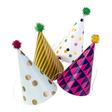 party hats pom pom party hats burnt butter cakes
