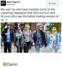 Seth Rogen Meme - seth rogen follow me and my wife have recently come to the