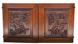 carved cabinet door panels hand carved cabinet doors hand carving wooden display decorative 4