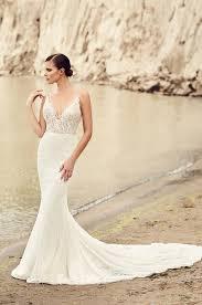 deep v neck wedding dress style 2100 mikaella bridal