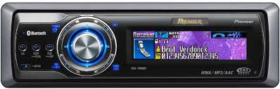 deh p980bt premier in dash cd mp3 wma wav itunes aac receiver