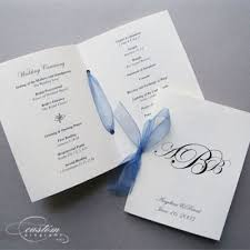 make wedding programs wedding program booklets make a modern and crafty wedding program