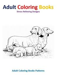 amazon com coloring books dog stress relief designs