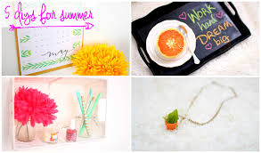 Diys To Do At Home by 5 Easy Diys To Try For Summer Roxy James