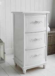 white rose bathroom cabinet with 3 drawers bathroom storage furniture