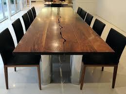 solid walnut dining table solid walnut dining table and chairs modern walnut dining table live
