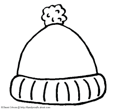 The Mitten Coloring Pages By Jan Brett Winter Hat Page Elegant On Coloring Page Of A Hat