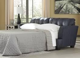 Navy Sleeper Sofa by Inmon Navy Queen Sofa Sleeper