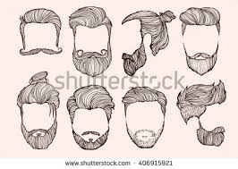 hhort haircut sketches for man man hair style collection download free vector art stock graphics