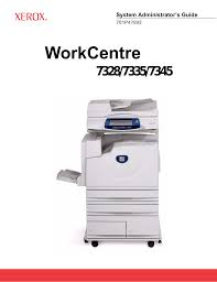 download free pdf for xerox workcentre 7232 multifunction printer