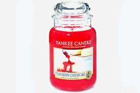 yankee candle review strawberry cheesecake