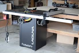 Ridgid Table Saw Review Laguna Fusion Table Saw Review How It Compares To Other Table Saws