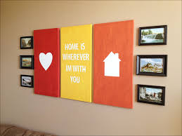 simple wall paintings for living room wall art designs canvas wall art quotes heart and house silhoutte