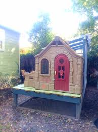 Step 2 Storybook Cottage Used by 185 Cluck Cottage Lane Backyard Chickens