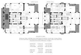 Two Story Condo Floor Plans by Mansions At Acqualina Condo Sunny Isles Beach Miami Fl 17749