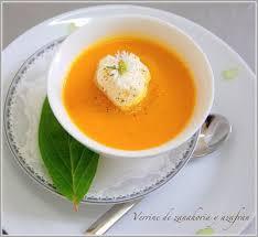 cuisine au safran verrine velouté de carottes au safran menu 2018