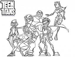 teen titans coloring pages 591965 coloring pages for free 2015