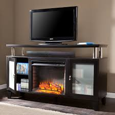 furniture electric fireplace with tv stand made of wooden in