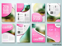 circle layout vector set of annual report brochures flyer magazine poster design template