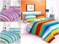 Bright Duvet Cover Rainbow Bedding Ebay