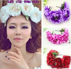 big flower headbands wholesale bohemia 15cm heads large peony fowers headband photoes