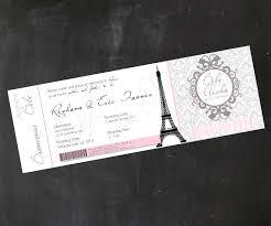 boarding pass invitations inspired boarding pass ticket invitations digital diy