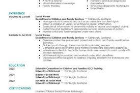Sample Social Work Resumes by Worker Sample Social Worker Resume Best Sample Resume Resume Cover