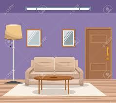 home interior vector room home interior sofa mirror floor l door entrance vector