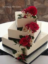 square wedding cakes floral cascade wedding cake fresh flowers wedding cake and cake