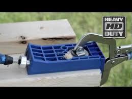 kreg jig hd heavy duty pocket hole system kjhd rockler