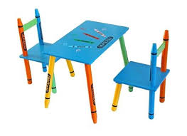 kids toddler activity draw art desk chair set easel play table