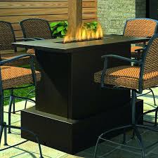 Patio Table And Chair Set Propane Fire Pit Table And Chairs Patio Furniture With Propane