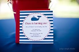 Nautical Appearance Guest Party Boy U0027s Nautical First Birthday Party