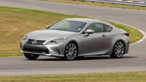 lexus limited edition sports car 2016 lexus rc 350 review stiff competition autoweek