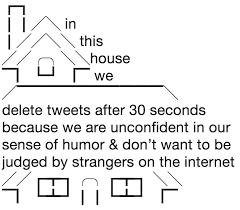 Memes Ascii - in this house ascii art meme and house