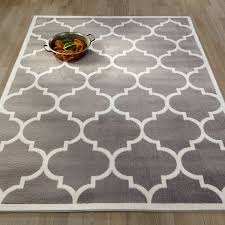Modern Square Rugs by Living Room Square Light Grey 2x3 Modern Polypropylene Trellis